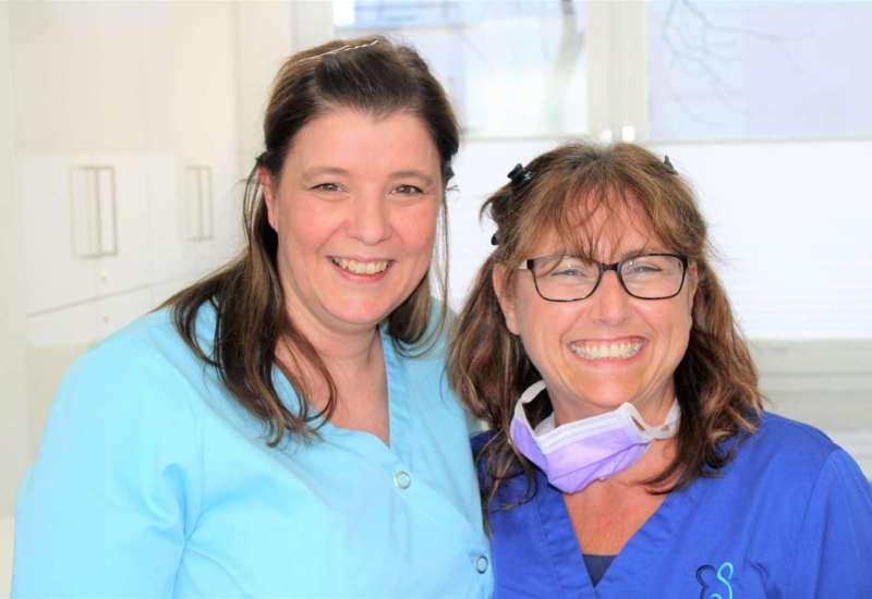 Mitarbeiter der Zahnarztpraxis Schiller